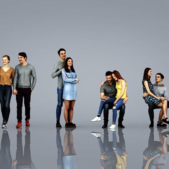 3D Human (4 couples)