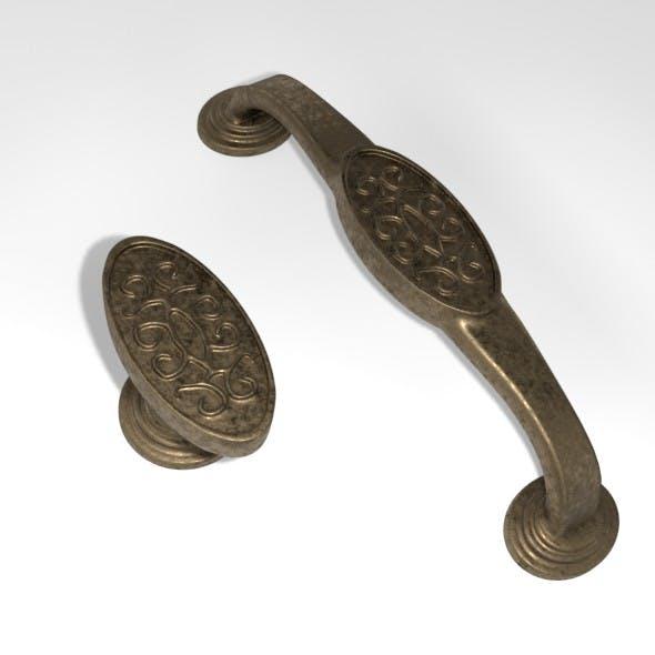 Bronze Furniture Handle 3