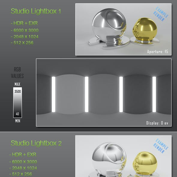 HDRI - 6 Light Tent Maps