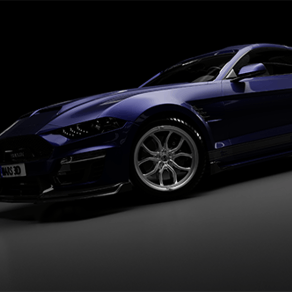 Shelby Super Snake coupe