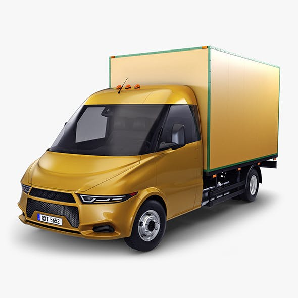 Generic Box Truck v 1