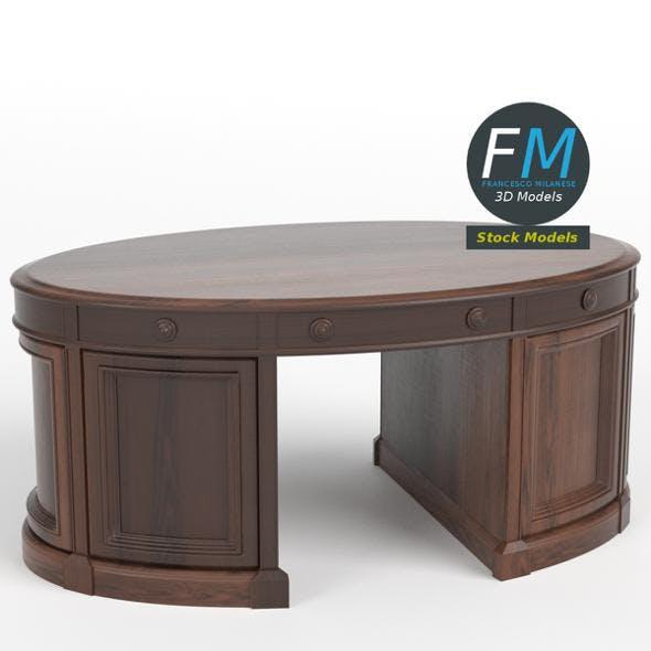 Oval office executive desk
