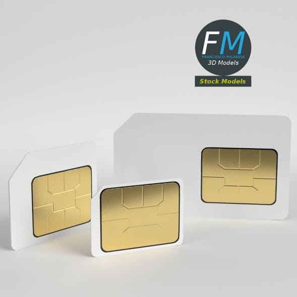 SIM cards - 3DOcean Item for Sale