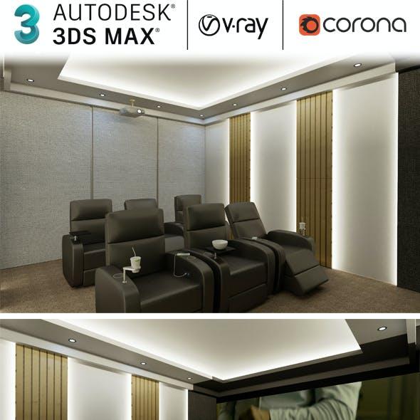 Cinema Room Home Theatre Realistic Design