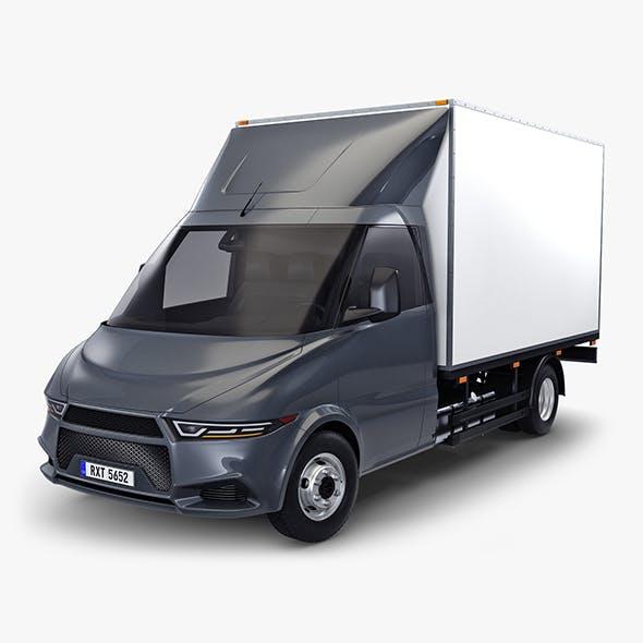 Generic Box Truck v 2 - 3DOcean Item for Sale