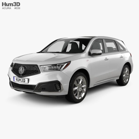 Acura MDX A-Spec 2018