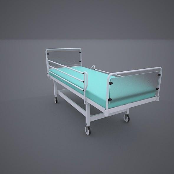 Hospital Wheeled Bed
