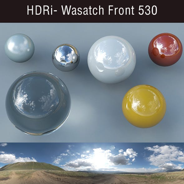 HDRi - Wasatch Front 530