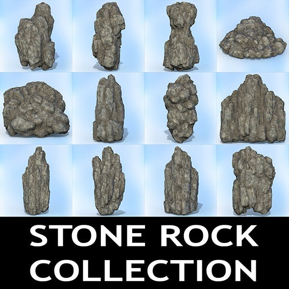 Game Ready Realistic Rock Collection