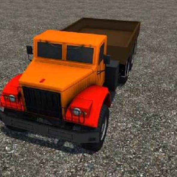 Industrial Cargo Truck 2