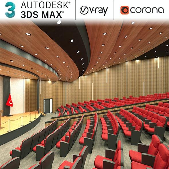 Auditorium Hall Realistic Design