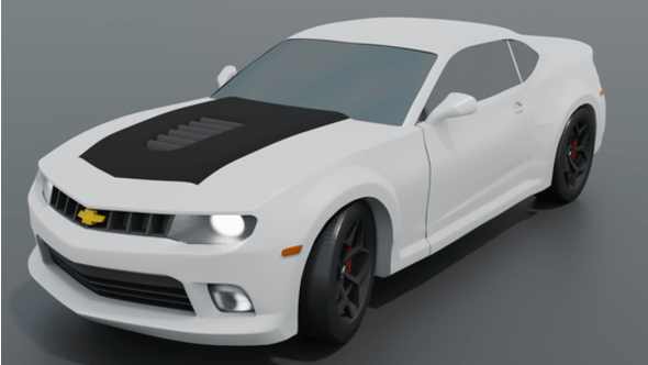 Chevrolet Camaro (fifth generation) - 3DOcean Item for Sale
