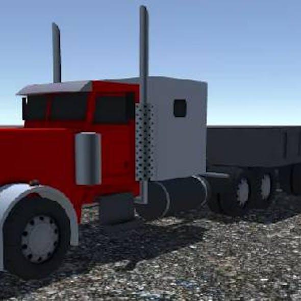Industrial Long Truck 1