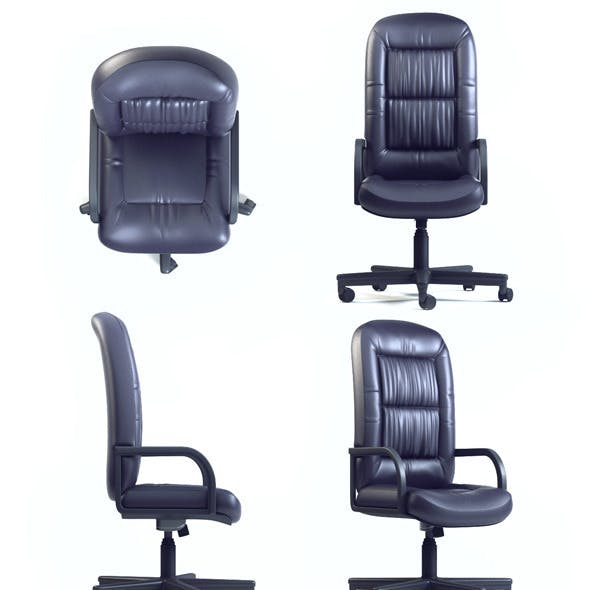 Quality 3dmodel of office chair CHAIRMAN CH-416 SP
