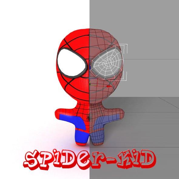 Spider-kid - 3DOcean Item for Sale