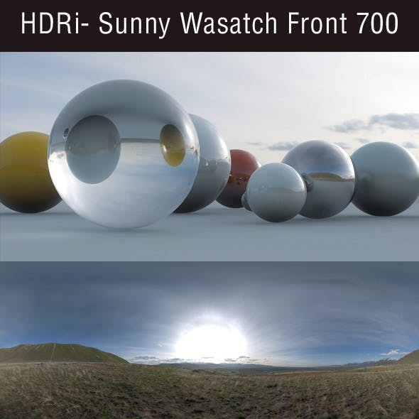 HDRi - Sunny Wasatch Front 700