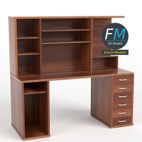 Computer desk 3 - 3DOcean Item for Sale