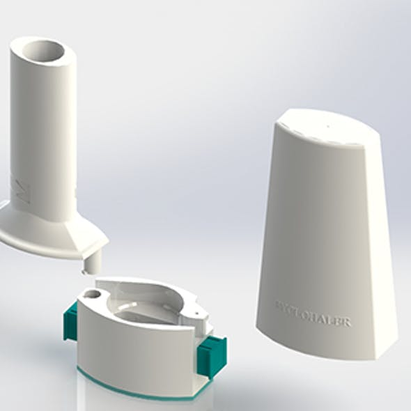 CycloHaler Design used by Asthma Patients