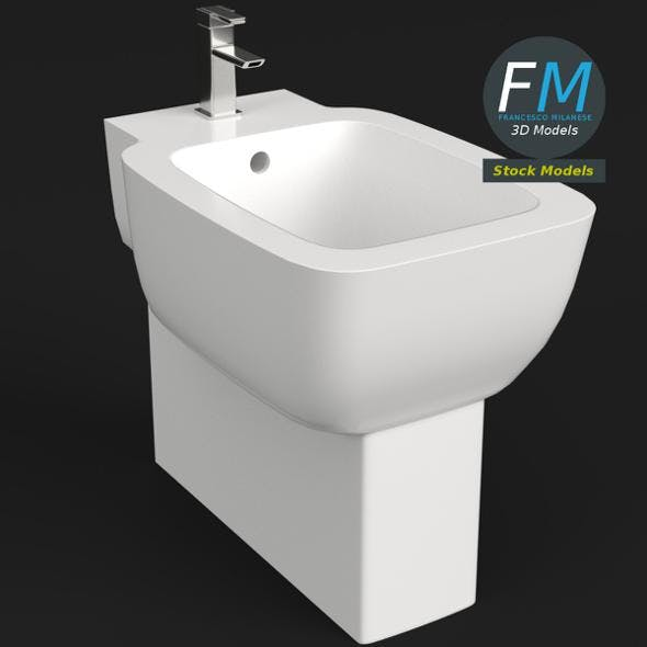 Bidet - 3DOcean Item for Sale