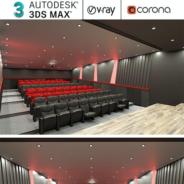 Auditorium And Theater Hall Realistic Design