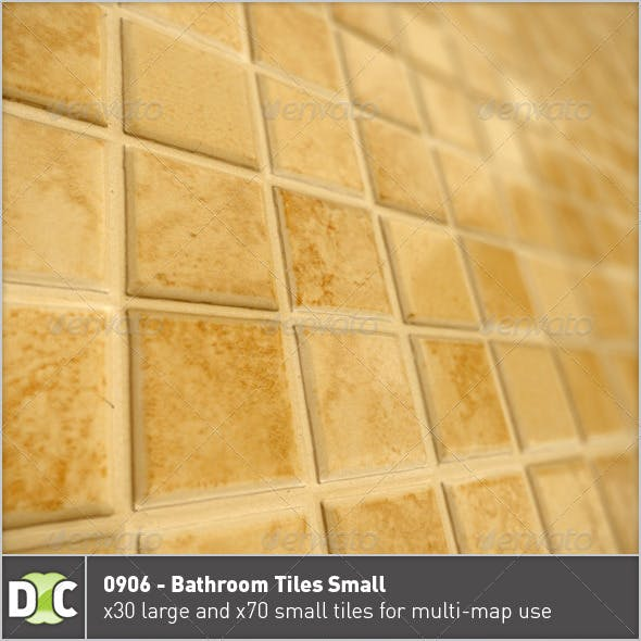 0906 - Bathroom Tiles Small