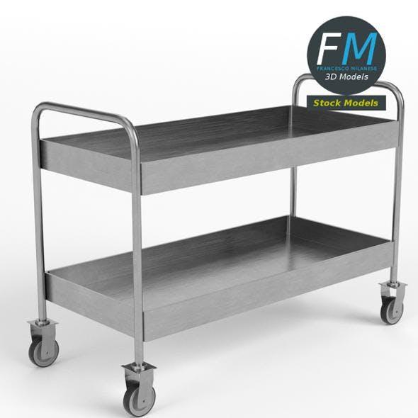 Food beverage trolley cart 1