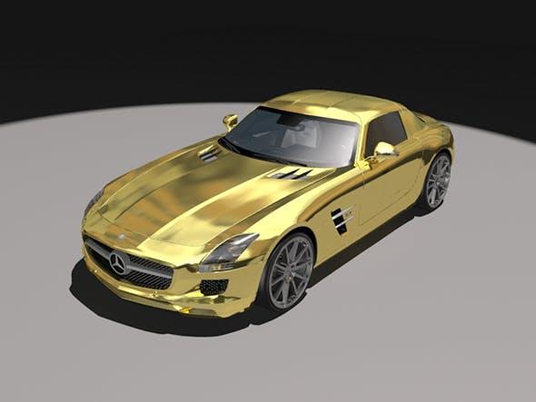 Mercedes Benz SLS - 3DOcean Item for Sale