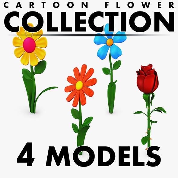 Cartoon Flower Collection volume 1 - 3DOcean Item for Sale