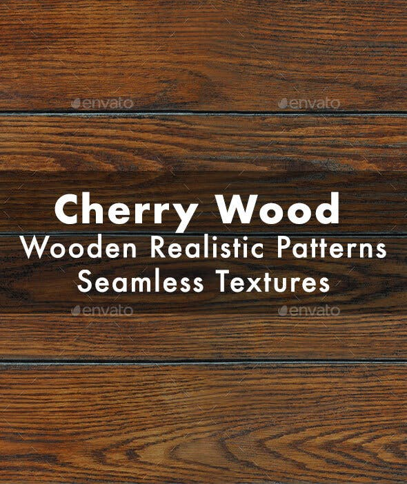 Cherry Wood Seamless Texture - 3DOcean Item for Sale