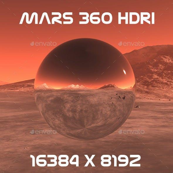 Mars 360 HDRI