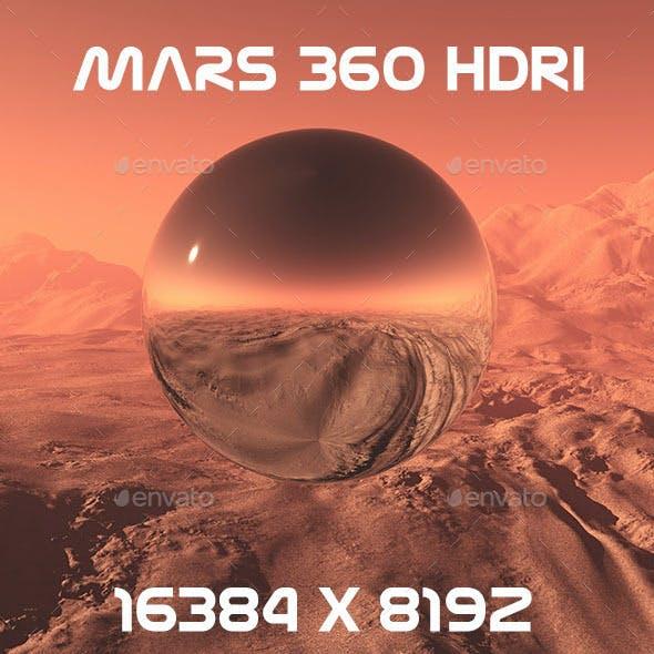 Mars 360 HDRI 16K