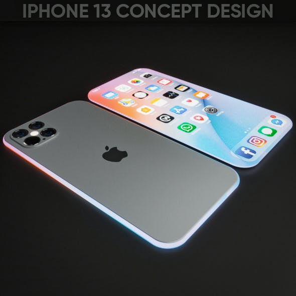 iPhone 13 Concept Design - 3DOcean Item for Sale
