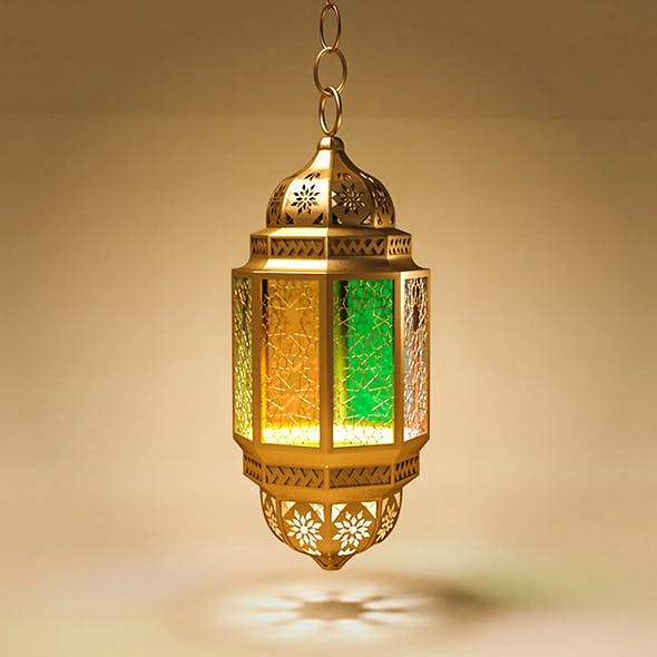 Lantern Islamic 3D