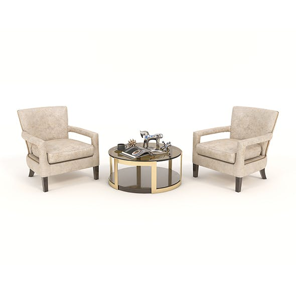Coffee Table and Chairs 2