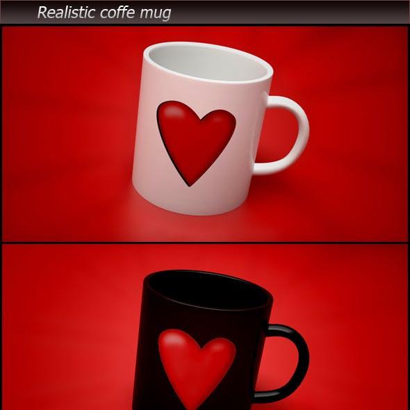 Realistic Coffe Mug