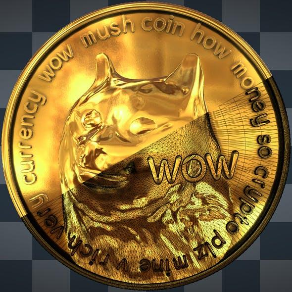 3D Dogecoin - 3DOcean Item for Sale