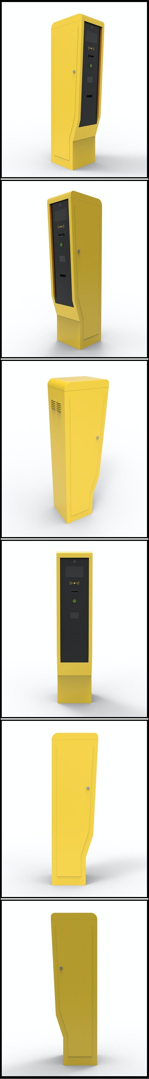 Entry parking station (Terminal) - 3DOcean Item for Sale