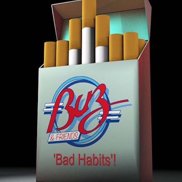 Cigarette box animated