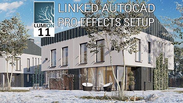 Lumion 10 11 Scene Modern House Full Scene (RenderReady) - 3DOcean Item for Sale