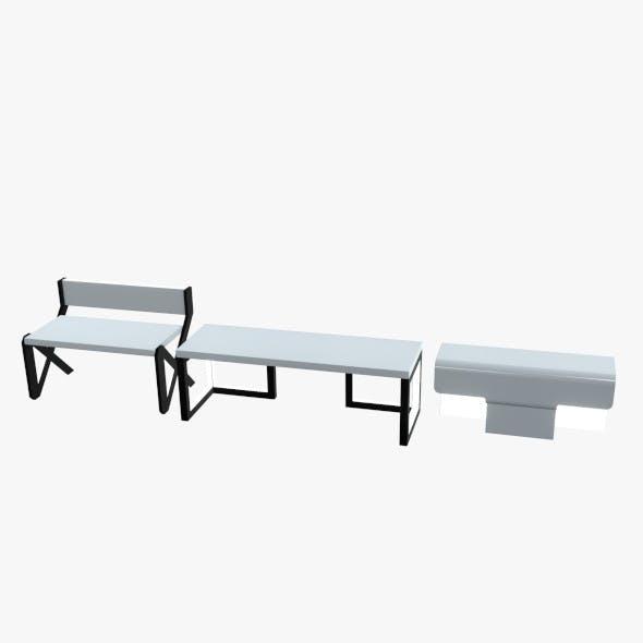 Minimalistic Sci-Fi Tables - 3DOcean Item for Sale