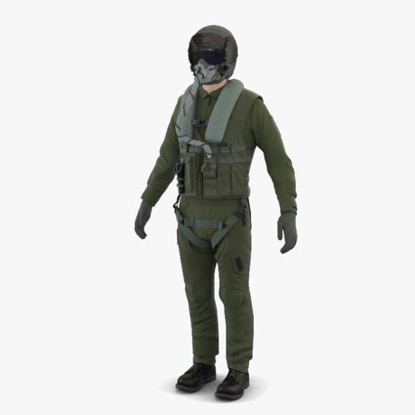Jet Fighter Pilot - 3DOcean Item for Sale