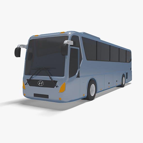 bus hyundai universe - 3DOcean Item for Sale