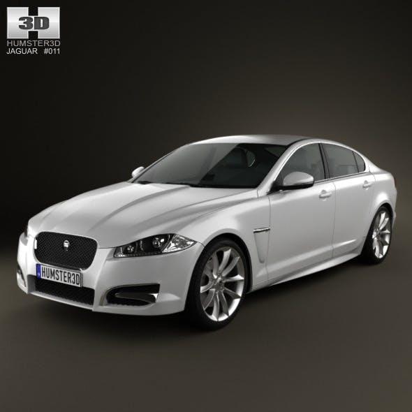 Jaguar XF 2012 - 3DOcean Item for Sale