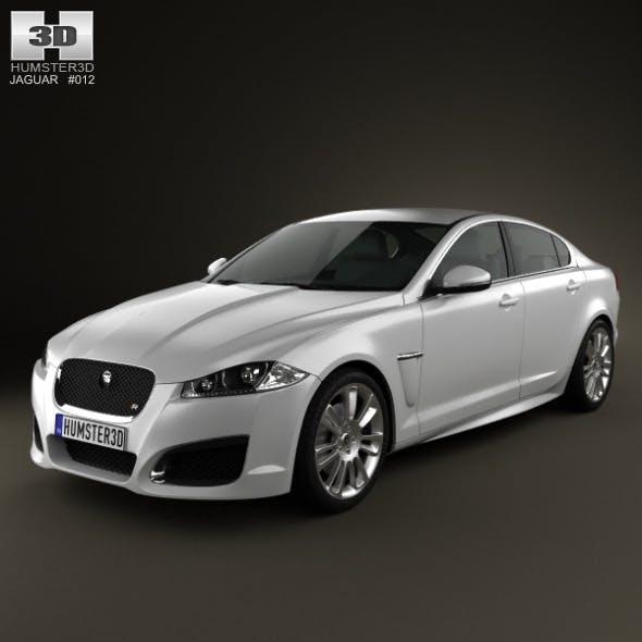 Jaguar XFR 2012 - 3DOcean Item for Sale