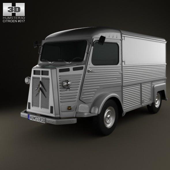 Citroen H Van 1980 - 3DOcean Item for Sale