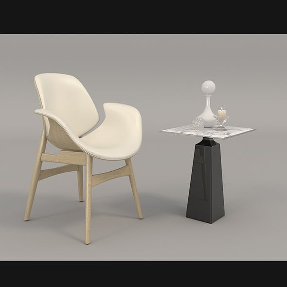Coffee Table and Chairs 3