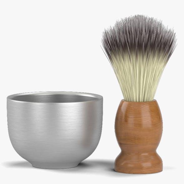 Shaving Brush - 3DOcean Item for Sale