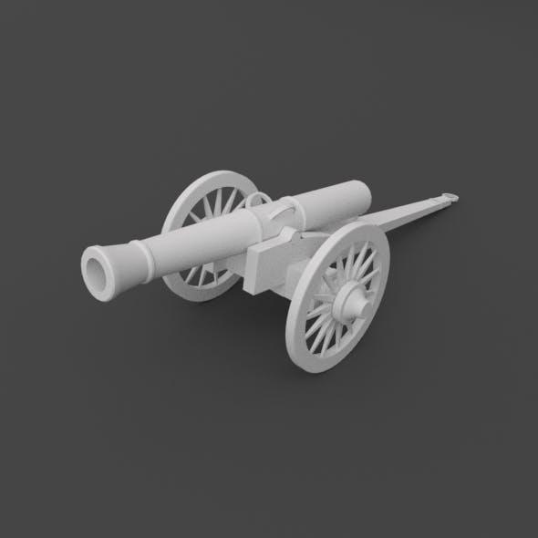 LowPoly Rifle