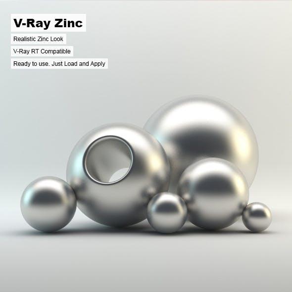 V-Ray Zinc Material