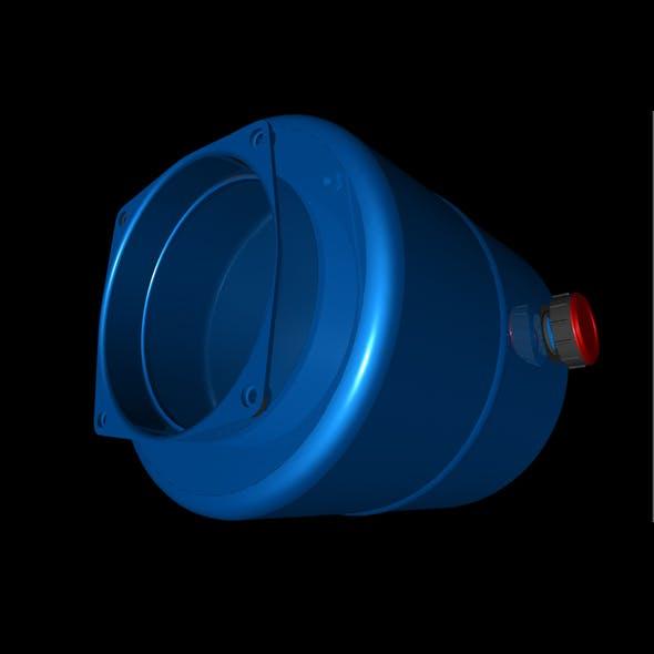 hydraulic tank - 3DOcean Item for Sale